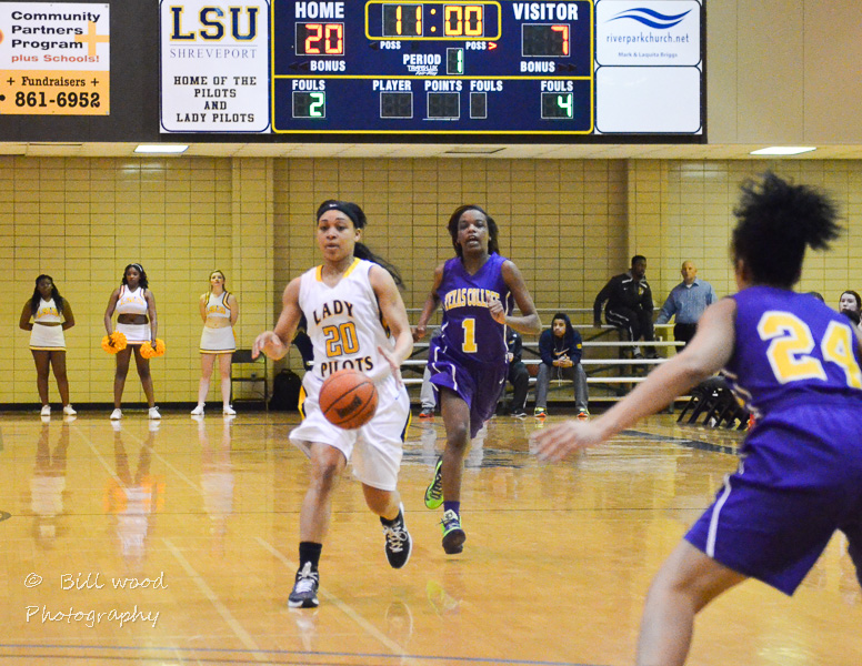 9th LSUS Lady Pilots vs Texas College Photo