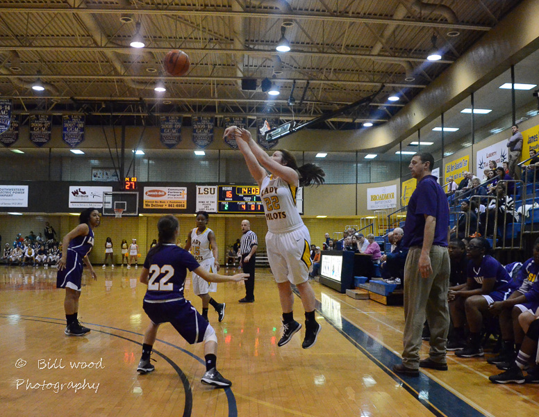 17th LSUS Lady Pilots vs LSUA RRAC 1st Round Playoff Photo