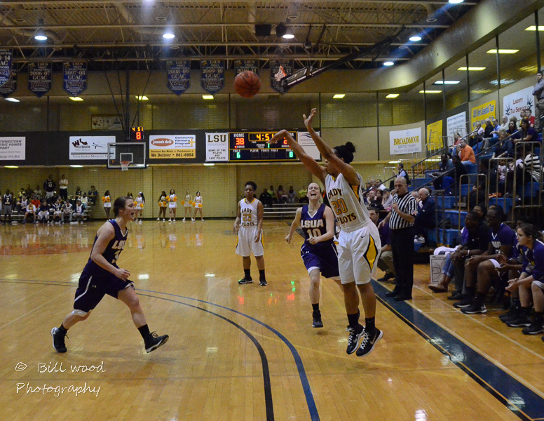 23rd LSUS Lady Pilots vs LSUA RRAC 1st Round Playoff Photo