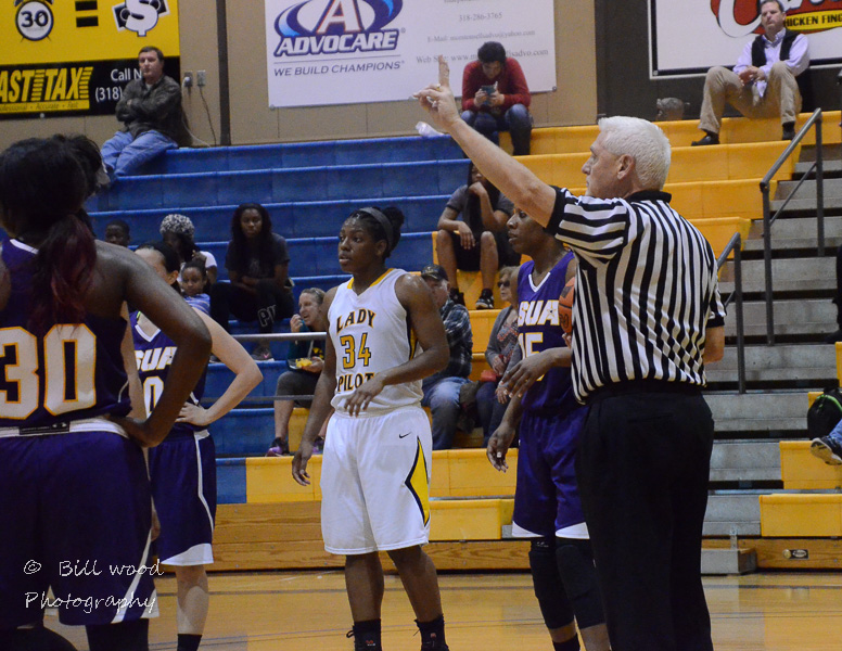 33rd LSUS Lady Pilots vs LSUA RRAC 1st Round Playoff Photo