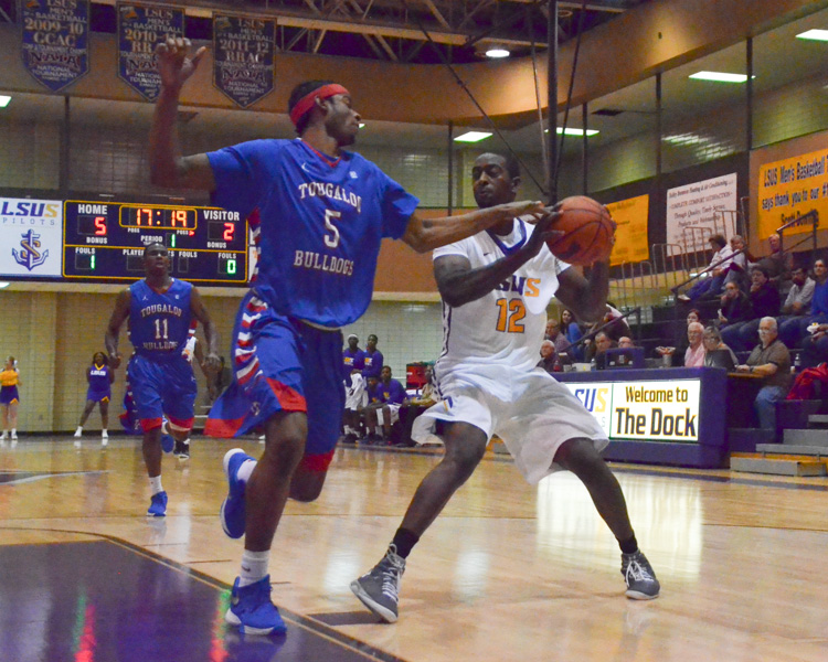 1st LSUS Men's Basketball vs Tougaloo Photo