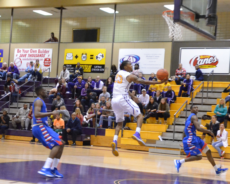 3rd LSUS Men's Basketball vs Tougaloo Photo