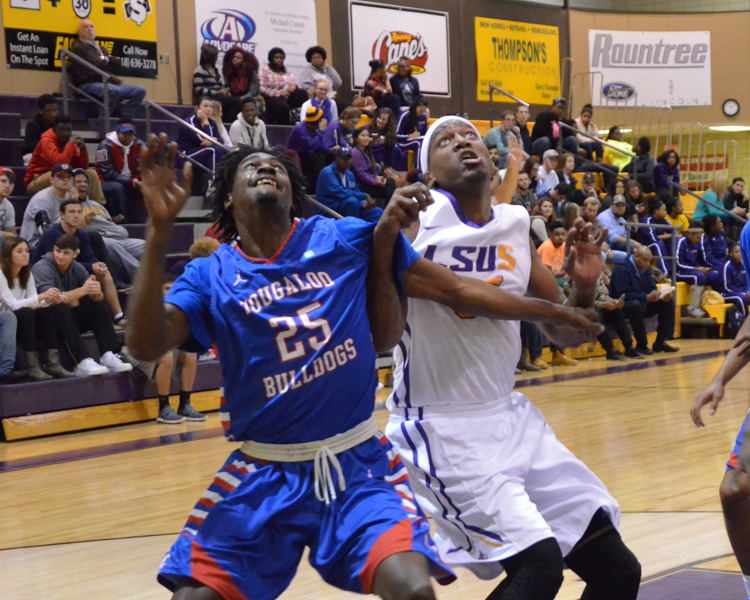 12th LSUS Men's Basketball vs Tougaloo Photo