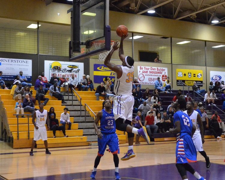 13th LSUS Men's Basketball vs Tougaloo Photo