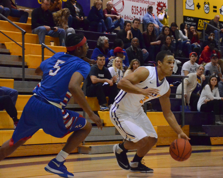 14th LSUS Men's Basketball vs Tougaloo Photo