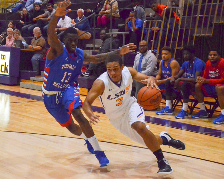15th LSUS Men's Basketball vs Tougaloo Photo