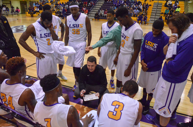 19th LSUS Men's Basketball vs Tougaloo Photo
