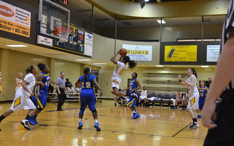 2nd LSUS Lady Pilots vs. Jarvis Christain Photo