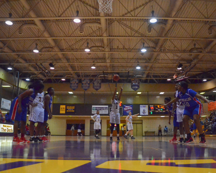 11th LSUS Women's Basketball vs Tougaloo Photo