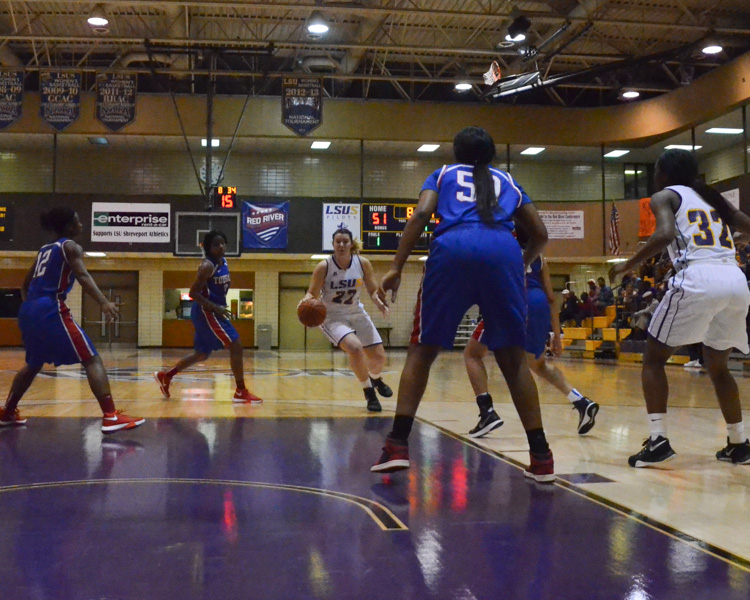 17th LSUS Women's Basketball vs Tougaloo Photo