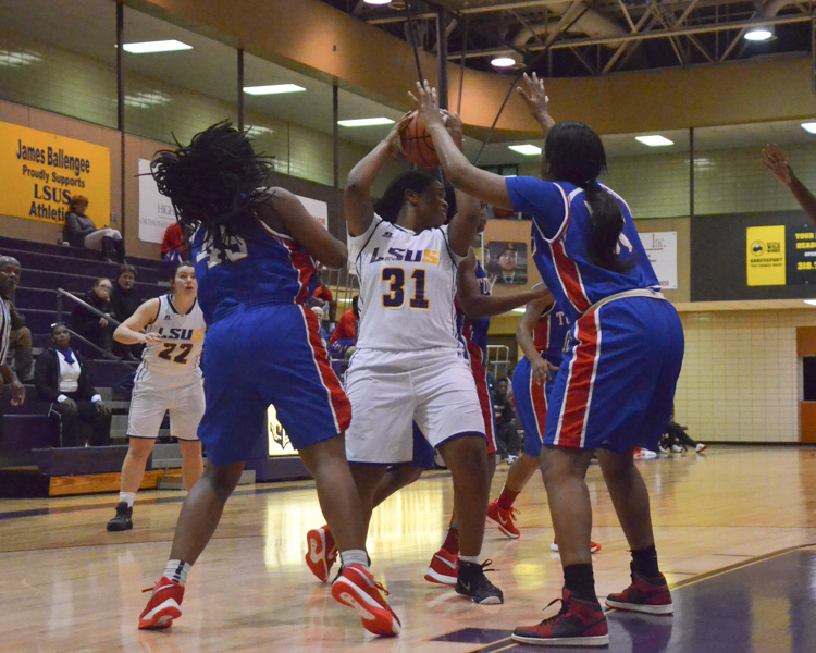 20th LSUS Women's Basketball vs Tougaloo Photo
