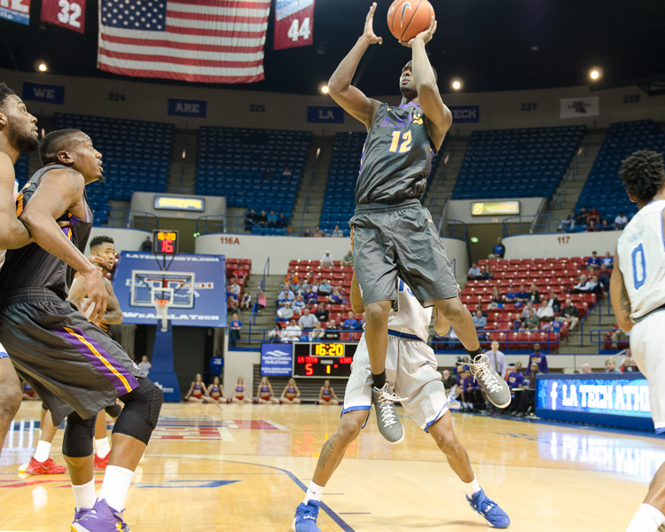 1st LSUS Men's Basketball vs LA Tech Photo