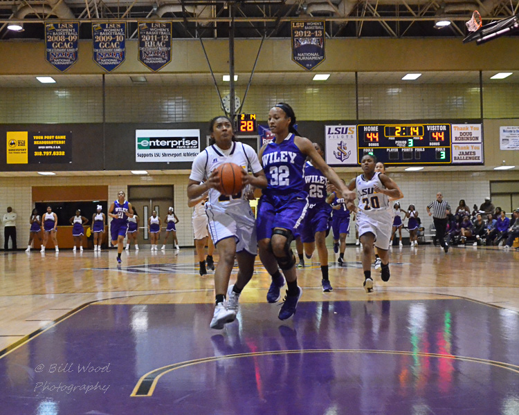 2nd LSUS Women's Basketball vs Wiley Photo