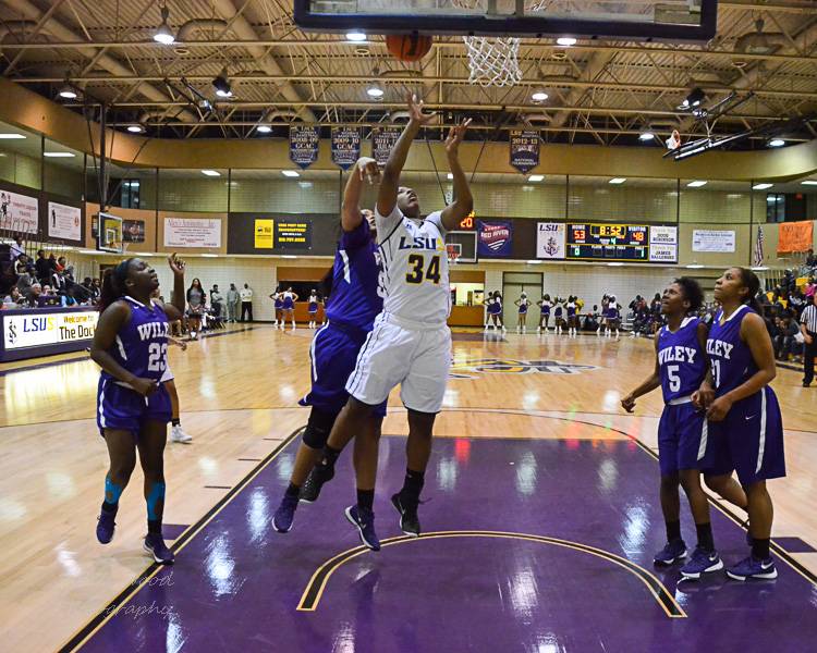 16th LSUS Women's Basketball vs Wiley Photo