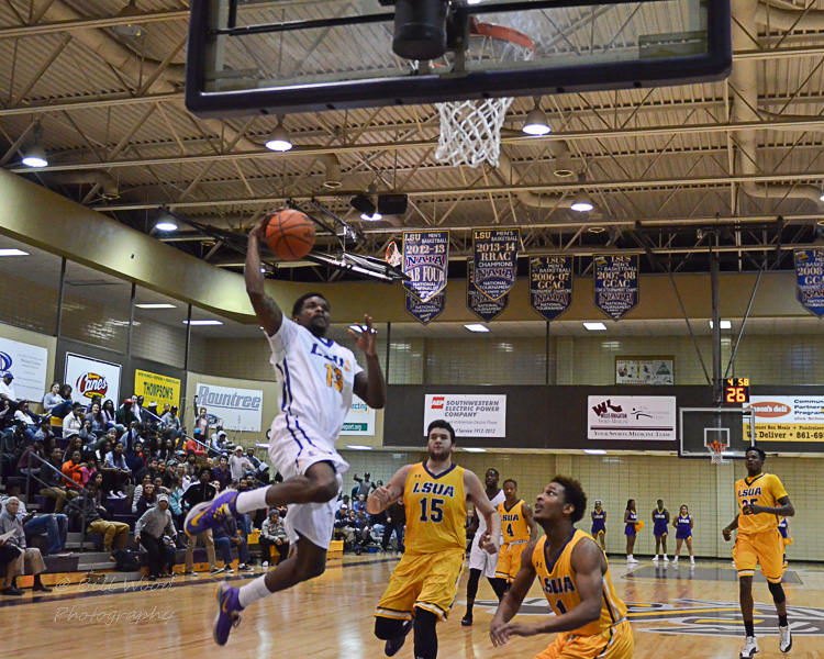 5th LSUS Men's Basketball vs LSUA Generals Photo