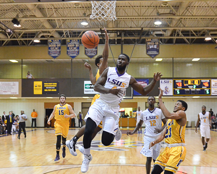25th LSUS Men's Basketball vs LSUA Generals Photo