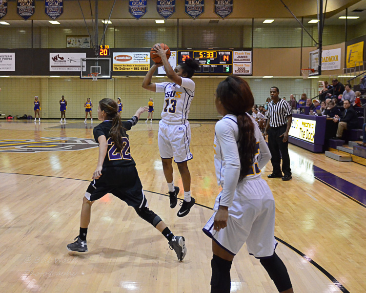 15th LSUS Women's Basketball vs LSUA Photo