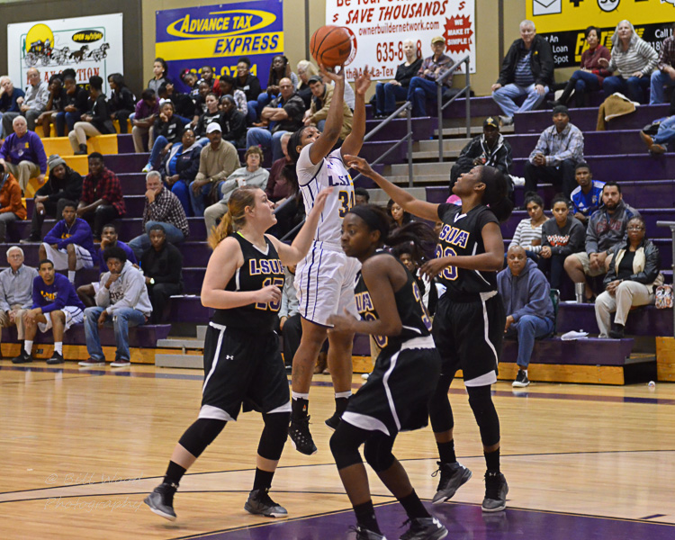 24th LSUS Women's Basketball vs LSUA Photo