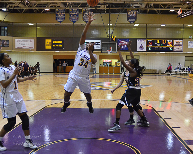 25th LSUS Women's Basketball vs LSUA Photo