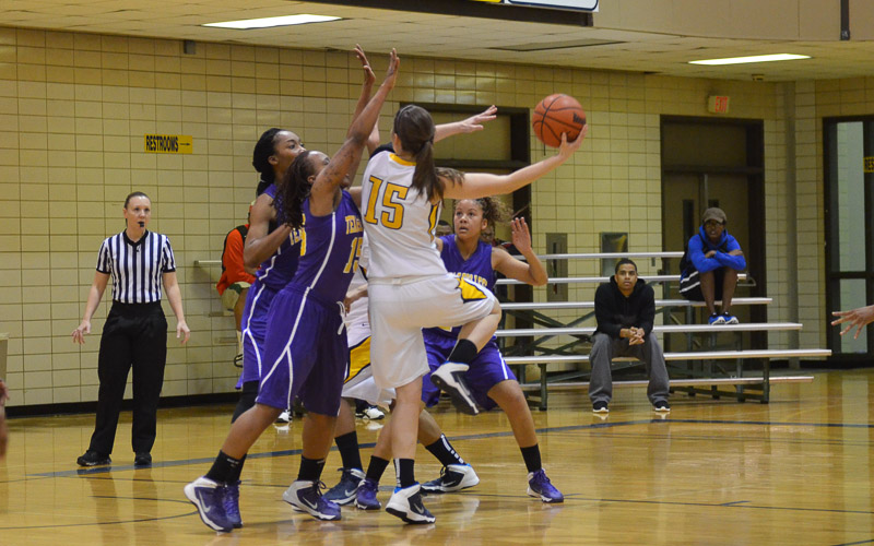 1st LSUS Lady Pilots vs. Texas College Photo
