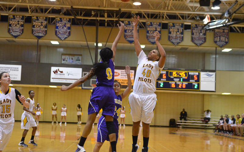 12th LSUS Lady Pilots vs. Texas College Photo