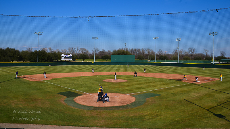 33rd LSUS Baseball vs Oklahoma City U.  Photo