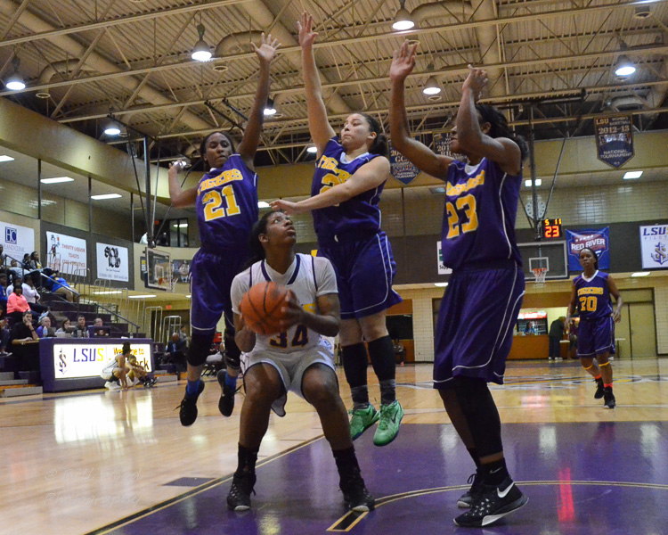 22nd LSUS Women's Basketball vs Paul Quinn Photo
