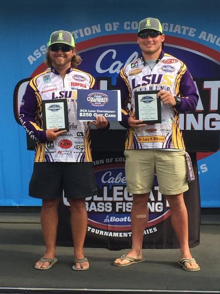 3rd LSUS Bass Fishing Team Takes Second at Nationals Photo