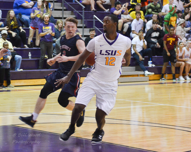 1st LSUS Men's Basketball vs St. Gregory Photo