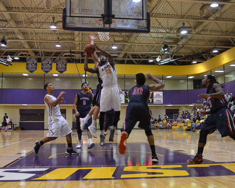 5th LSUS Men's Basketball vs St. Gregory Photo