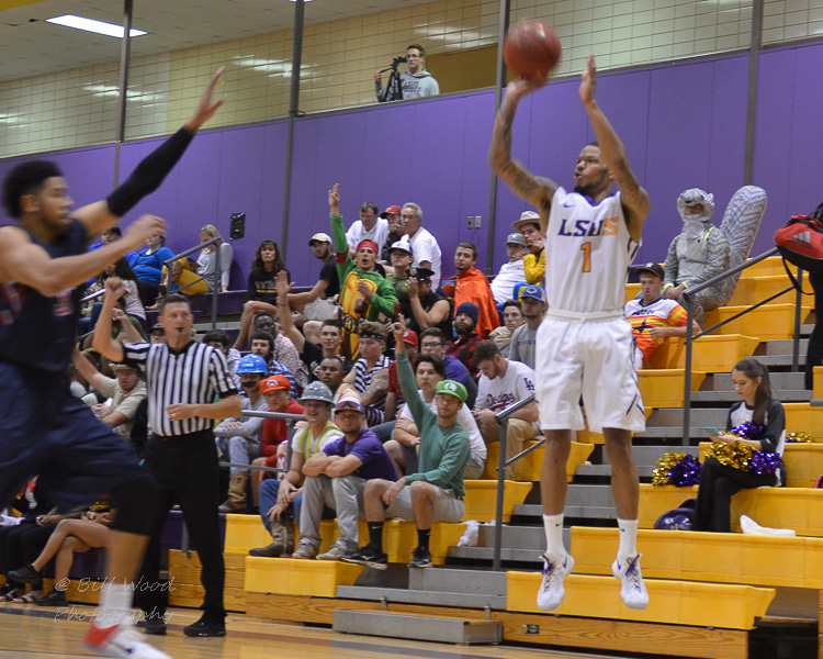 7th LSUS Men's Basketball vs St. Gregory Photo