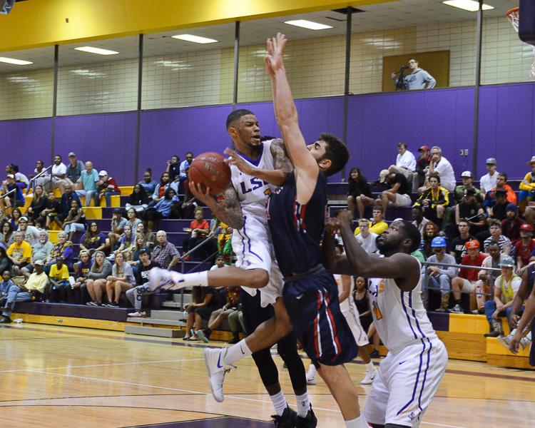 9th LSUS Men's Basketball vs St. Gregory Photo