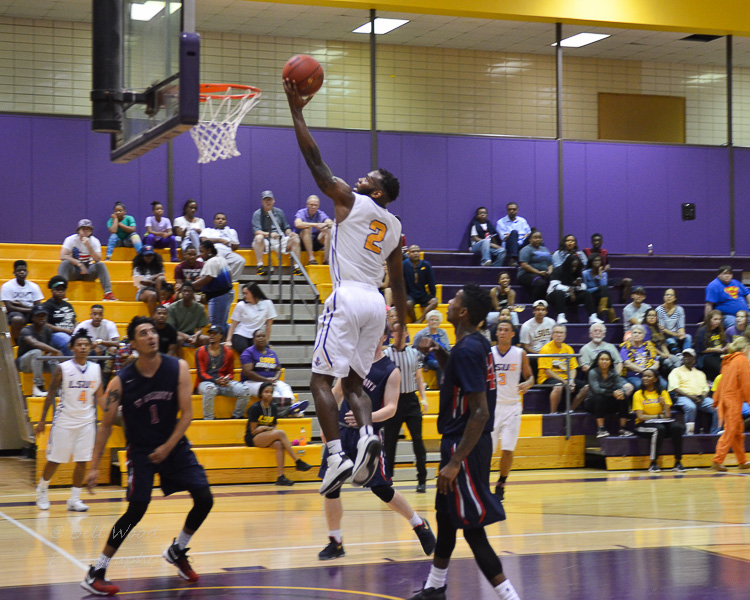11th LSUS Men's Basketball vs St. Gregory Photo