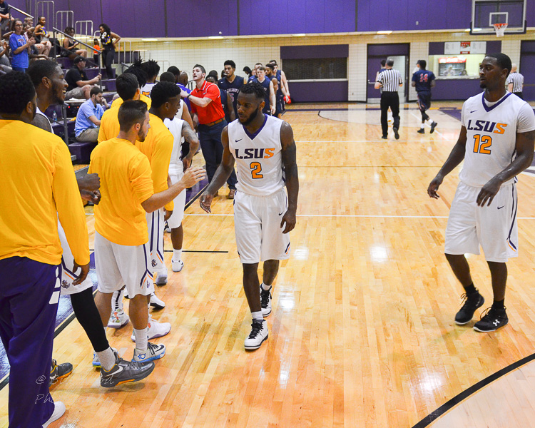 12th LSUS Men's Basketball vs St. Gregory Photo
