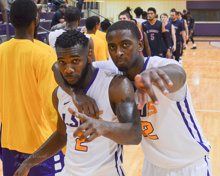13th LSUS Men's Basketball vs St. Gregory Photo