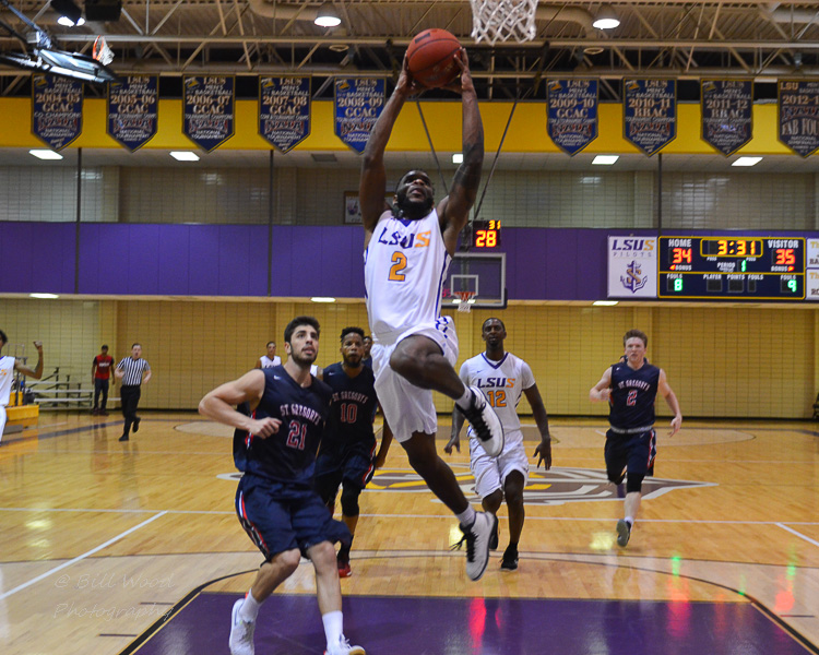 14th LSUS Men's Basketball vs St. Gregory Photo