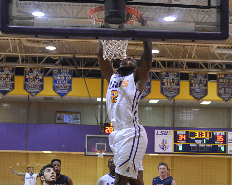 15th LSUS Men's Basketball vs St. Gregory Photo
