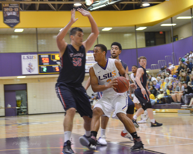 20th LSUS Men's Basketball vs St. Gregory Photo