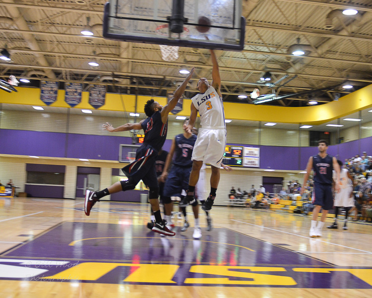 21st LSUS Men's Basketball vs St. Gregory Photo