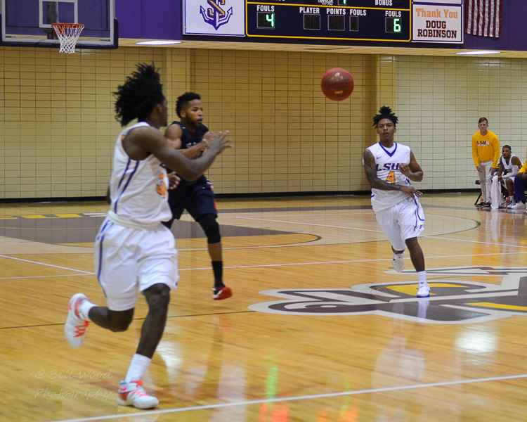 24th LSUS Men's Basketball vs St. Gregory Photo