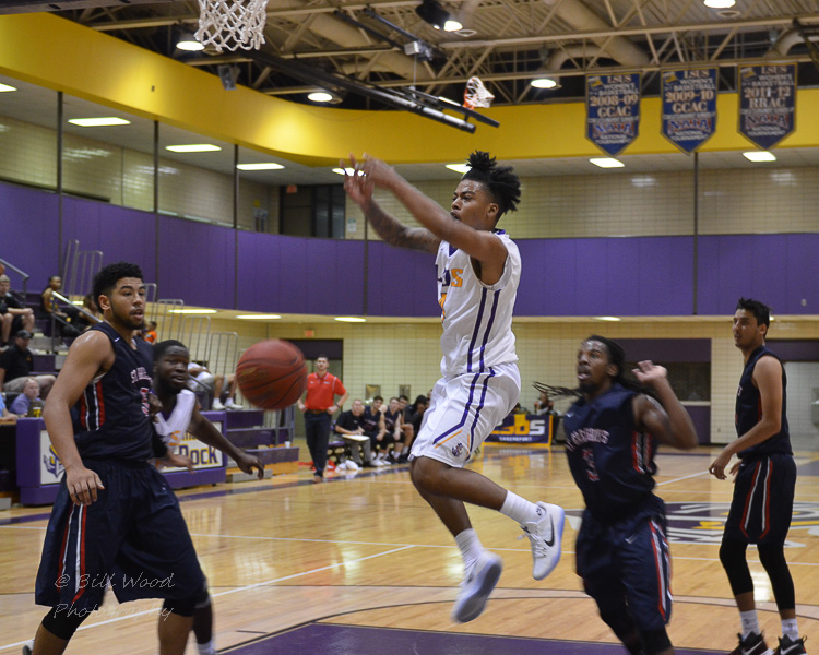 26th LSUS Men's Basketball vs St. Gregory Photo