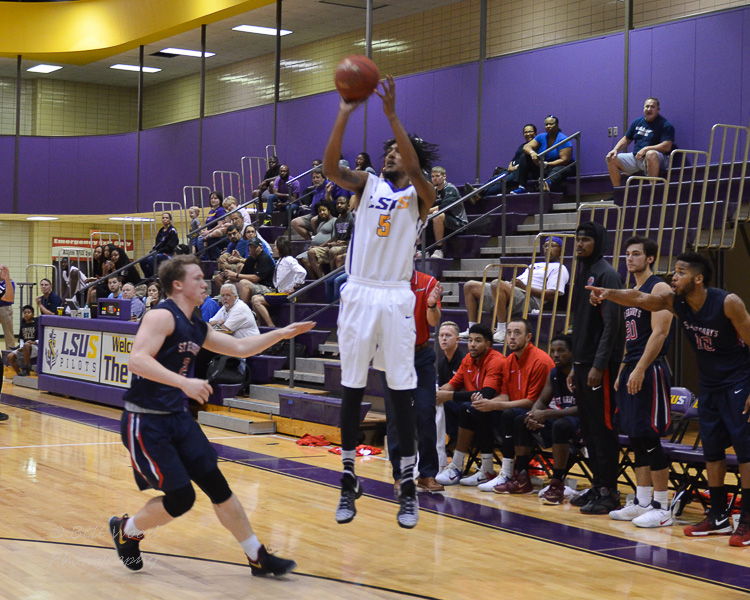 29th LSUS Men's Basketball vs St. Gregory Photo