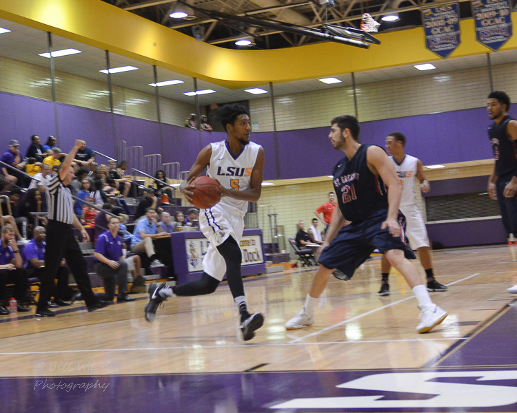 30th LSUS Men's Basketball vs St. Gregory Photo