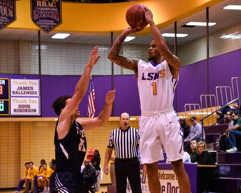 10th LSUS Men's Basketball vs St. ETBU Photo