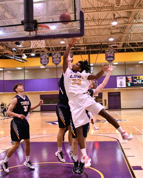 21st LSUS Men's Basketball vs St. ETBU Photo