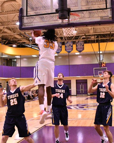 22nd LSUS Men's Basketball vs St. ETBU Photo