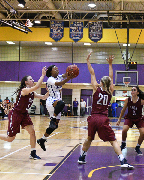 10th LSUS Women's Basketball vs Lyon College Photo