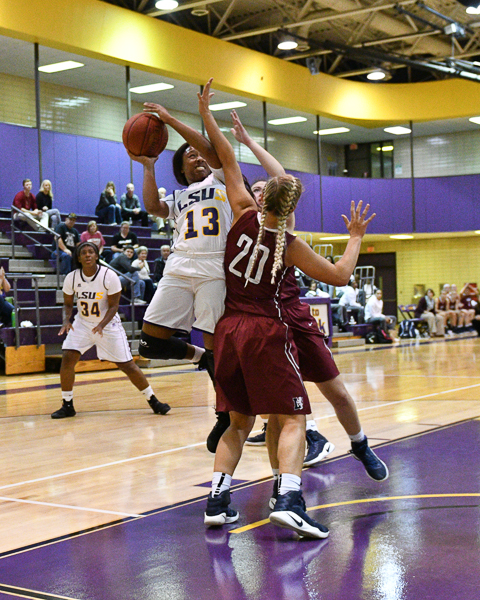 14th LSUS Women's Basketball vs Lyon College Photo
