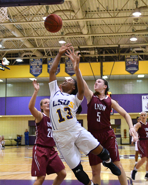 15th LSUS Women's Basketball vs Lyon College Photo