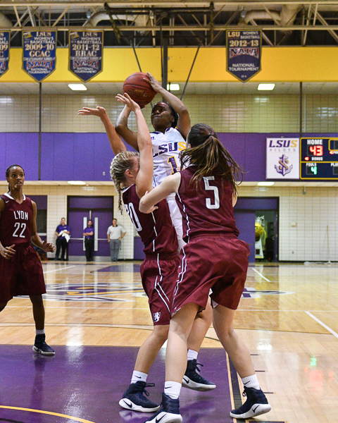 17th LSUS Women's Basketball vs Lyon College Photo